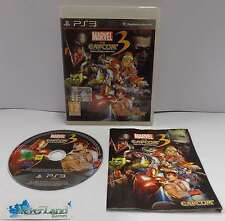 Gioco Game SONY Playstation 3 PS3 ITALIANO MARVEL VS CAPCOM 3 Fate of Two Worlds