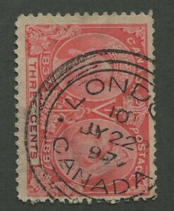 CANADA-53-USED-JUBILEE-ONTARIO-TOWN-CANCEL-034-LONDON-034-DATED-SON-CDS-3