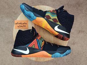 e5b2778c6c2f Nike Kyrie 2 BHM Black History Month Black Multicolor 828375-099 ...