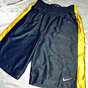 suave Rare dorado Basketball Dazzle negro medio Shorts Nike Vintage sedoso sexy CBw00