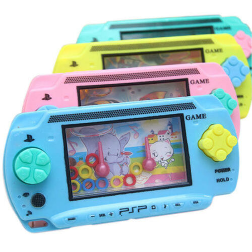 Baby Kids Girl Boy Toy Accessories Colorful Candy Color Funny Water Console Game