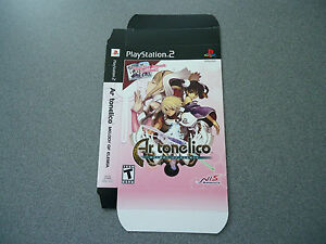 Ar-tonelico-Melody-of-Elemia-Empty-Display-Box-NEW-PS2-No-Game