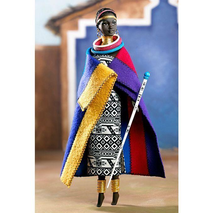 BARBIE DA COLLEZIONE Bambola Barbie® Princess of South Africa MATTEL NUOVA 56218