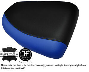 DESIGN-2-R-BLUE-amp-BLACK-CUSTOM-FITS-SUZUKI-HAYABUSA-GSX-1300-99-07-REAR-SEAT-COVER