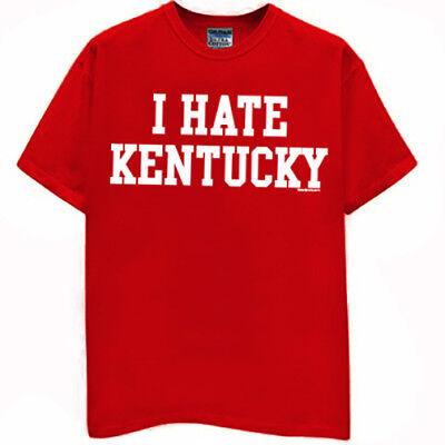Kentucky Wildcats T-shirt I HATE LOUISVILLE football basketball jersey XL