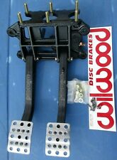 WILWOOD REVERSE SWING MOUNT ADJUSTABLE CLUTCH OR BRAKE PEDAL ASSEMBLY,LONG,6:1