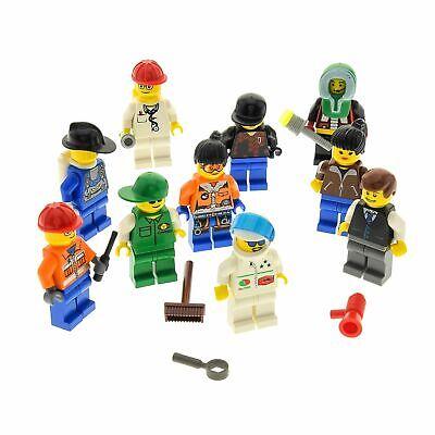 Lego Minifigure 30 CITY copricapo per figure MISTO