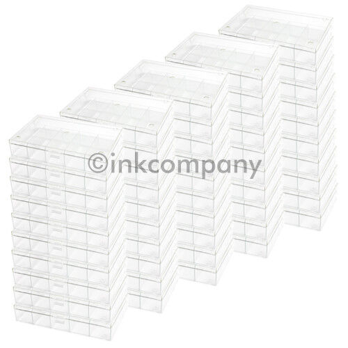 50x 6er Sorting Box Sorting Boxes Sorting Box Transparent New
