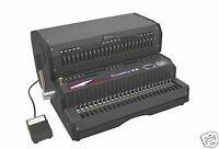 Akiles Combmac-ex24 Comb Binding Machine & Electric Hole Punch 14 [new]