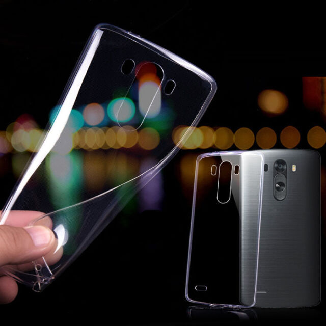 Ultra thin 0.3mm Crystal Clear soft TPU Cover Case For LG G3 D855 D850 Useful