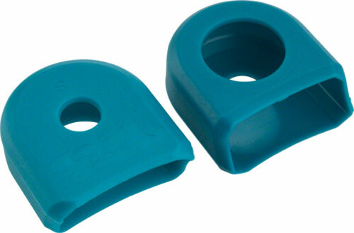 2-Pack TURQUOISE For Alloy Cranks Medium RaceFace Crank Boots
