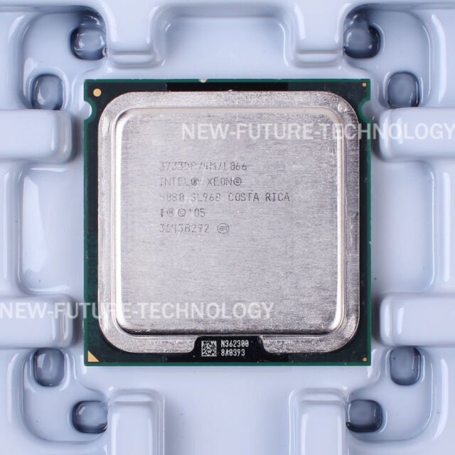 Lot of 2 Intel Xeon 5080 3.73 GHz Dual-Core 4MB 1066MHz LGA771 CPU Processor