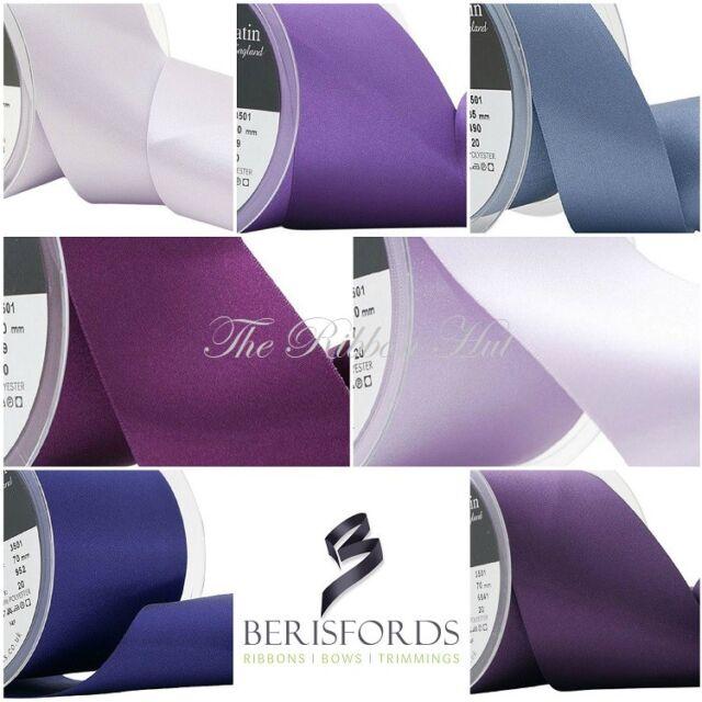 Berisfords 15mm-25mm Polka Dot Ribbon 15 Colours 2-5Mtr Lengths