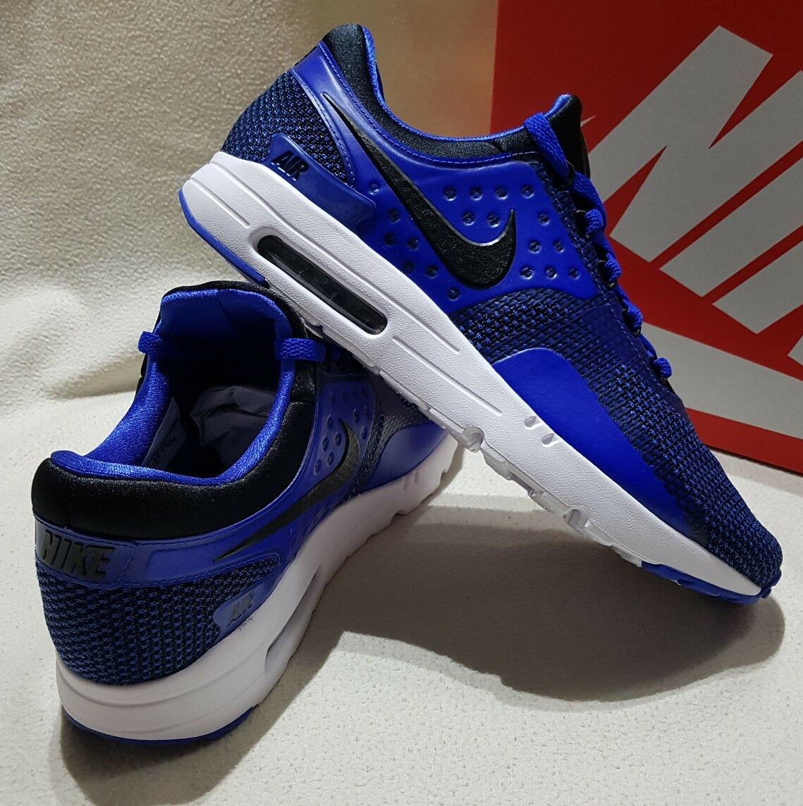 NIKE AIR MAX ZERO ESSENTIAL MEN'S TRAINERS SNEAKERS BLUE 876070 001 -10