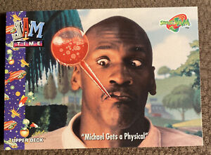 Michael-Jordan-Upper-Deck-SPACE-JAM-43-Michael-Jordan-Gets-a-Physical