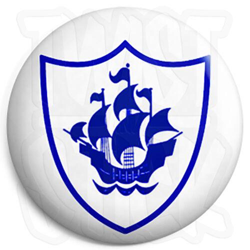 Blue Peter Shield Badge 25mm Button Pin Badge Retro Kids TV Program