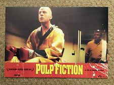 PULP FICTION Original Lobby Card 11 BRUCE WILLIS QUENTIN TARANTINO Boxing Scene