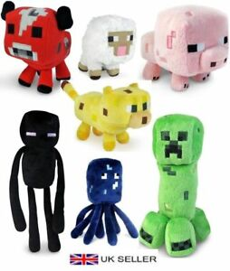 Minecraft-Animal-Plush-Toys-Stuffed-Animals-Soft-Toy-Plushies-For-Kids-Gifts-UK