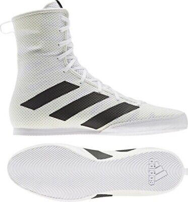 Adidas Box Hog 3 Boxing Boots Mens Womens Sports Shoes Sparring Sizes 5-12 UK