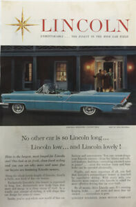 1957-Vintage-Ad-Lincoln-Premier-Convertible-Is-Lincoln-Long-and-Lincoln-Lovely