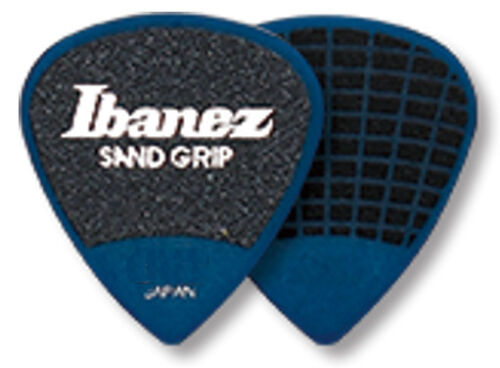 6er Pack 0,8 mm blau Ibanez Sandgrip Plektren PA16MSG-DB Grip Wizard