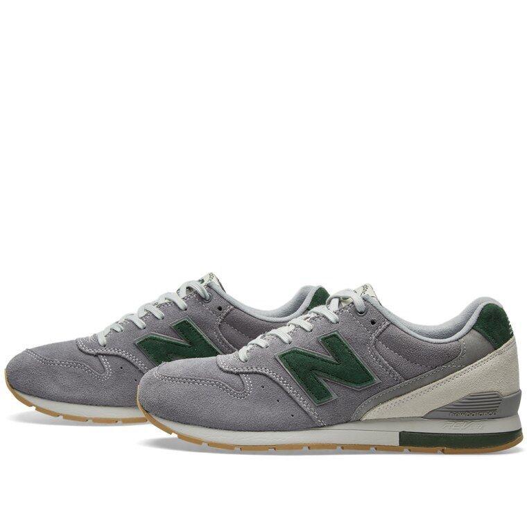 New Balance Size Revlite 996 Suede Size Balance 4.5 Grey Green MRL996NA 2a082b