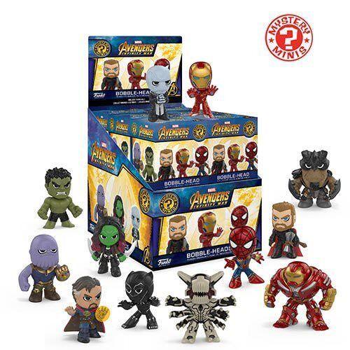 Mystery Minis Avengers Infinity War Mini Figure Case of 12 Funko