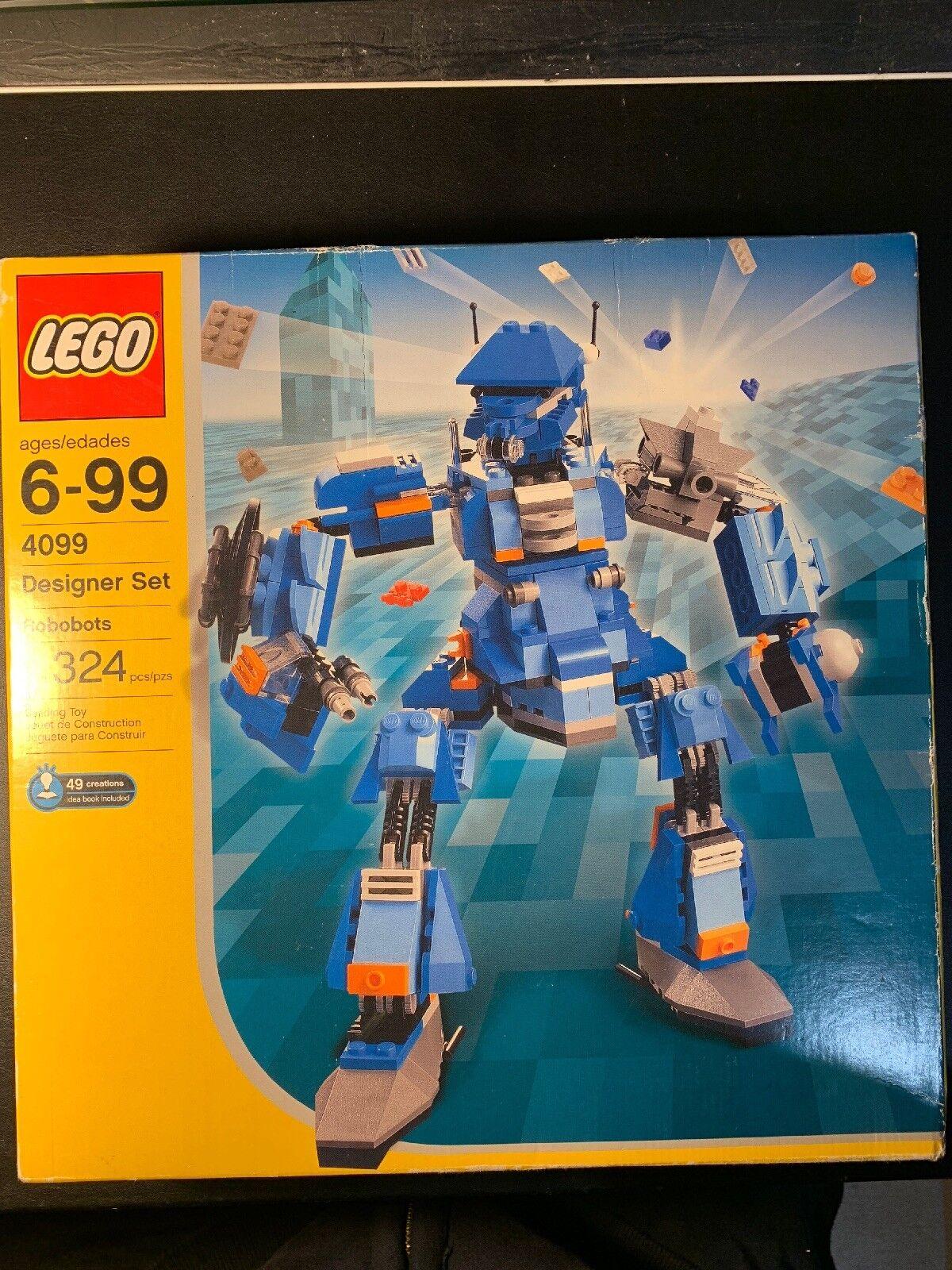 controlla il più economico LEGO Robobots Designer Set 4099 - nuovo     unopened 2003  il miglior servizio post-vendita