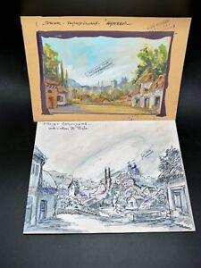 PROJET-DECOR-THEATRE-OPERA-OPERETTE-Dessin-Original-Atelier-GANNE-Hameau-Lot-2