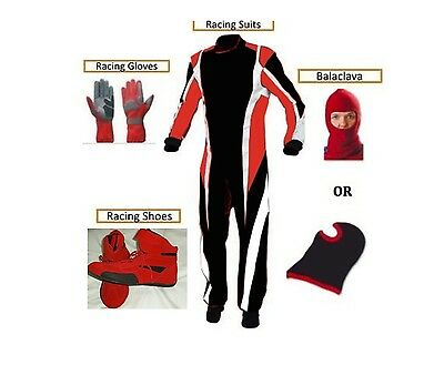 Go Kart Race Suit Kit Free Gifts Ebay