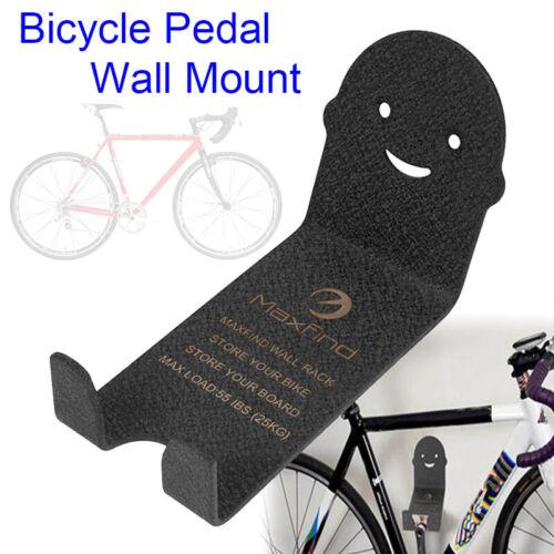1pcs Metal Bike Bicycle Cycling Pedal Wall Mount Storage Hanger Stand Racks