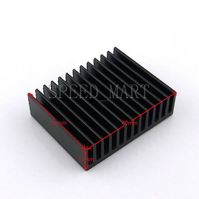 Aluminum Cooling Fin Heat Sink for Computer Electronic Chip IC 40*32*11mm