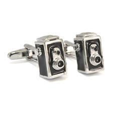 Vintage 1920s Style Camera Cufflinks photographer rolleiflex New & Boxed AJ343