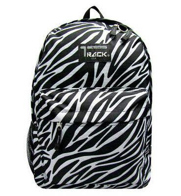 ZEBRA  Backpack School Pack Bag 205 Black White Back Pack Free Shipping New
