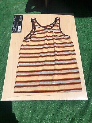 Vtg 70s shirt top transparent  kings road