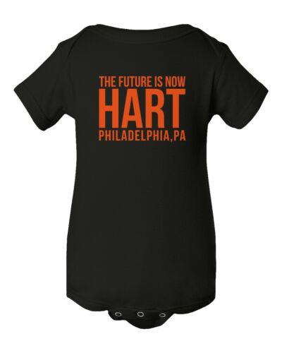 Details about  /Philadelphia Flyers FUTURE IS NOW Hart Hockey Little Infant Baby Bodysuit