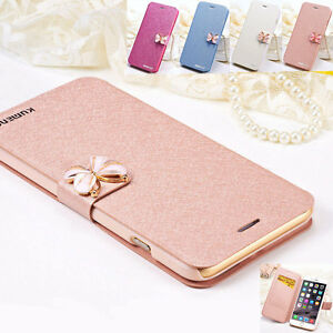 Luxury-Flip-Leather-Wallet-Card-Case-Cover-f-Apple-iPhone-7-Plus-6-Galaxy-Varies