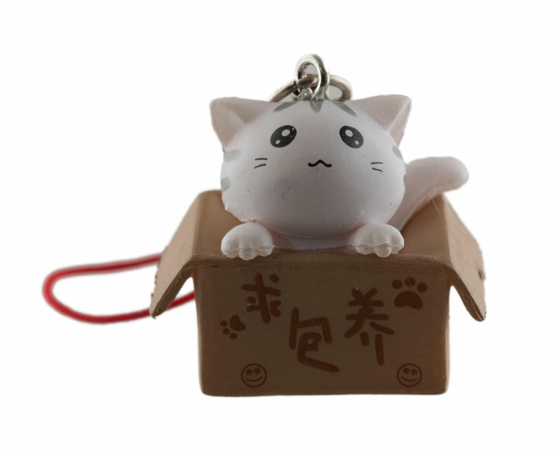 Jewel Handbag Or Of Phone Cat White Box Maneki Neko Lucky Charm 217