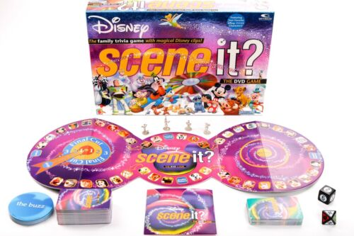 Disney Scene it Game Replacement Pieces and Parts - You Choose What You Need