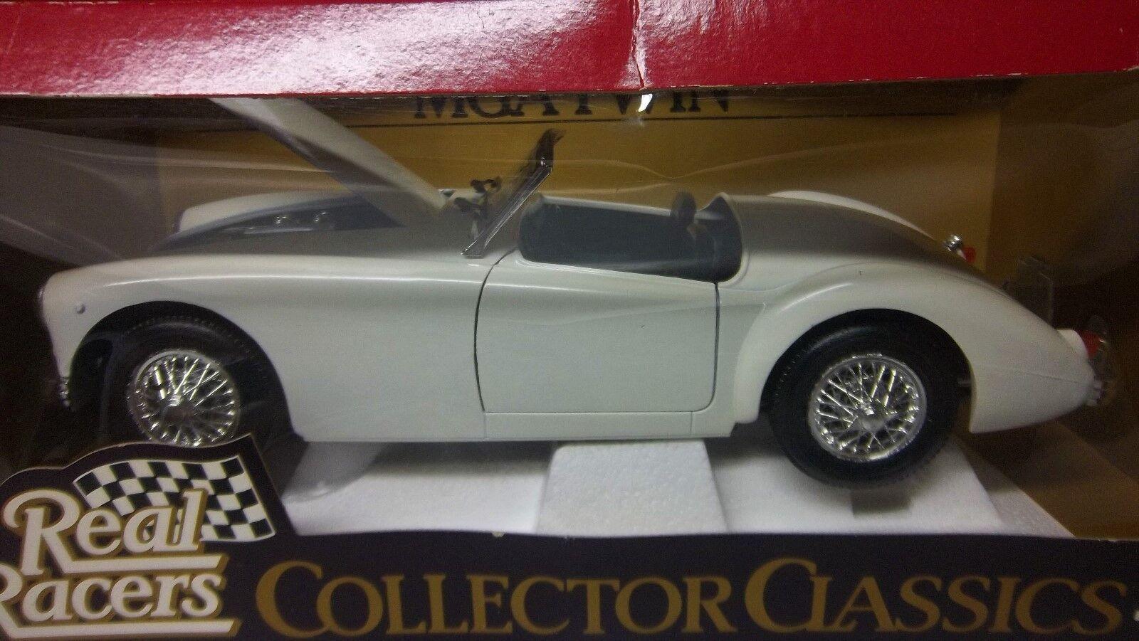 MGA British ENGLISH WHITE LHD 1 18 RARE TONKA MGA-TC IN ORIGINAL BOX TWINCAM MGA