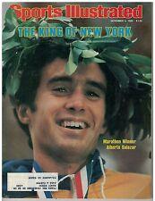 Nov 3 1980 issue of Sports Illustrated Marathon Winner Alberto Salazar