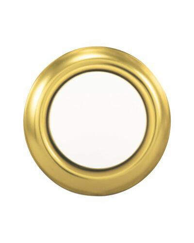 Heath Zenith  Metal  Wired  Pushbutton Doorbell