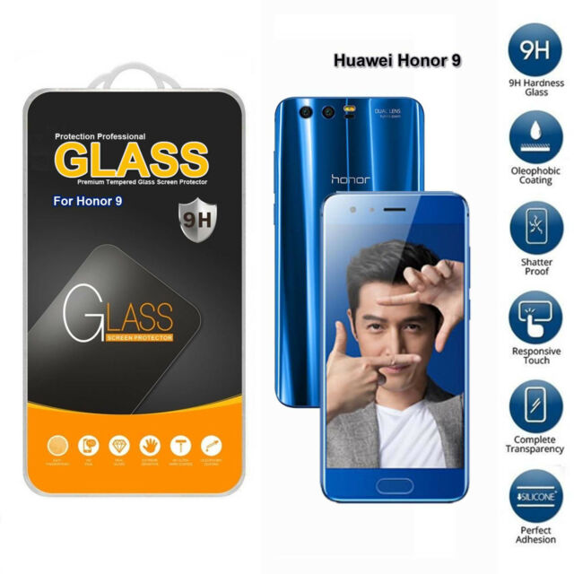 Huawei Honor 9  Tempered Glass Screen Protector (Only For This Phone)