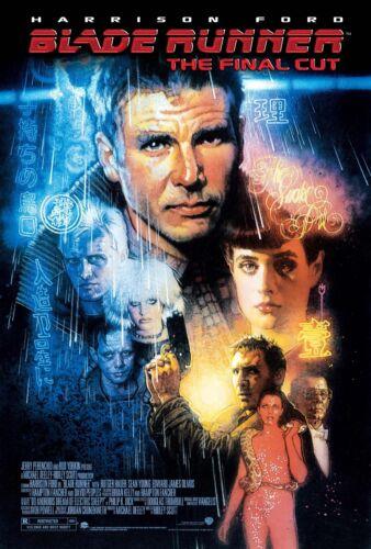 Blade Runner 1982 Vintage Movie Poster A0-A1-A2-A3-A4-A5-A6-MAXI 421