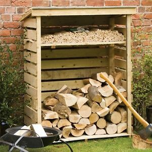 Genial Image Is Loading Outdoor Log Storage Garden Fire Dry Wood Shed
