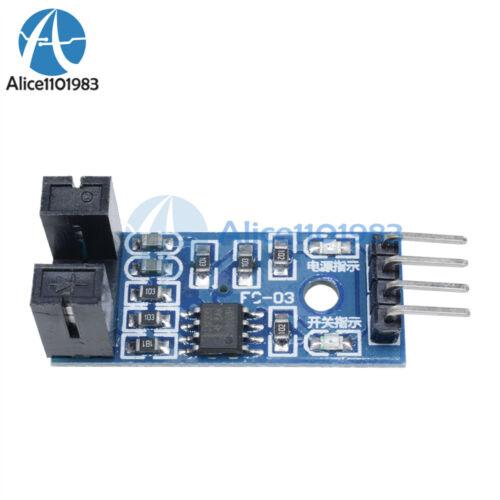 5PCS Slot Type Optocoupler Module 3.3V-5V LM393 Comparator Slot-Type For Arduino