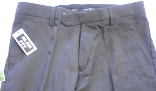 """Mens Boys Black Grey Navy Skinny Leg Slim Fit School Trousers Pants 25/"""" 38/"""""""