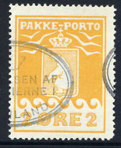 GREENLAND-1915-Parcel-Post-2-re-perforated-11-used