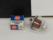 NOS AC Delco Glass Bowl Fuel Filter with element 1956-65 Chevrolet & Chevelle