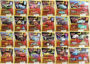 C-Disney-Pixar-Modellini-Film-Cars-Mattel-1-55-Autos-Metallo-Giocattolo-Die-cast